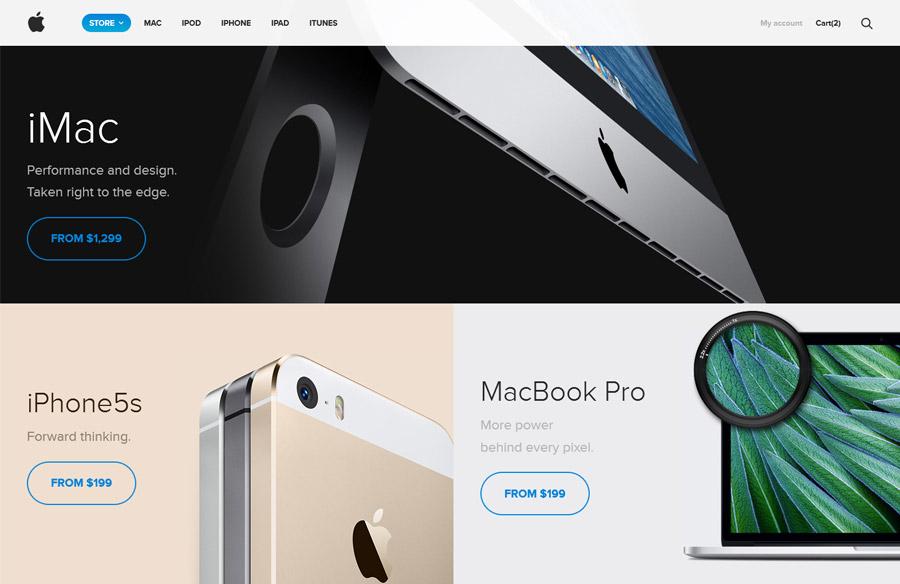 Rediseño Apple Store